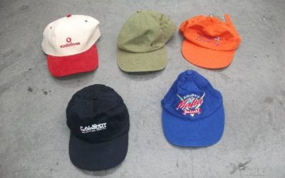 FACE CAPS AND HATS