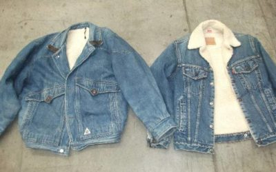 HEAVY JEANS JACKET WITH LIGNING