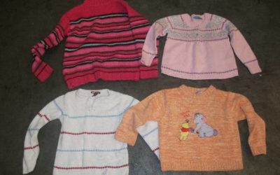 CHILDREN KNITTED SWEATERS