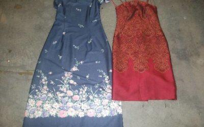 POLYSILK DRESS