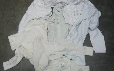 Pamut pulóver fehér