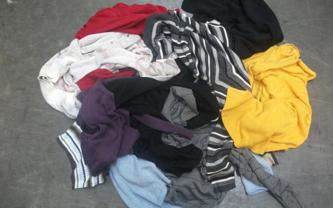 Pamut pulóver többszínű