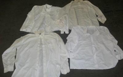 Férfi fehér ing