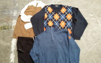 FFI vékony/vastag kötött pulóver