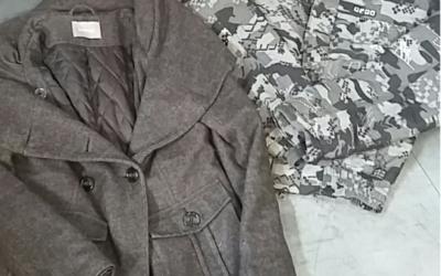 Extra vegyes kabát